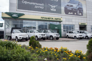 УАЗ Комби 7 мест 2.7 5MT (112 л. с.) Стандарт с БДИФ